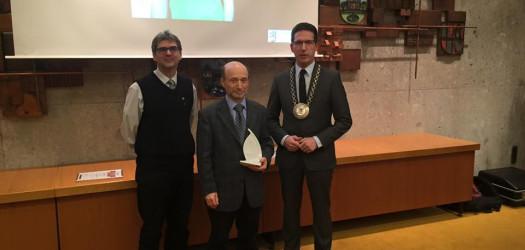 Der Sportehrenpreis geht 2015 an Jürgen Strunz von der Tischtennisabteilung ohne den im Verein nichts läuft